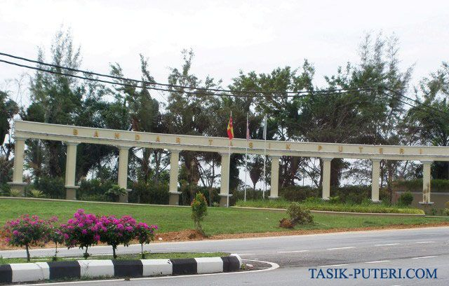 Entrance Bandar Tasik Puteri