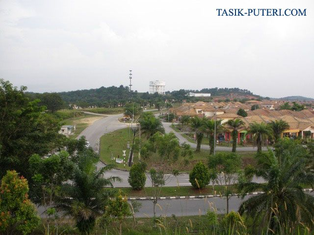 central park view of tasik puteri